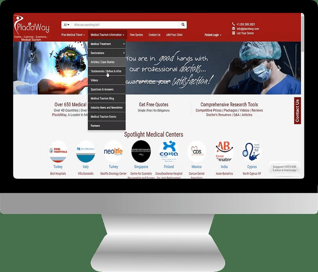 Idealna strona WWW dla lekarza