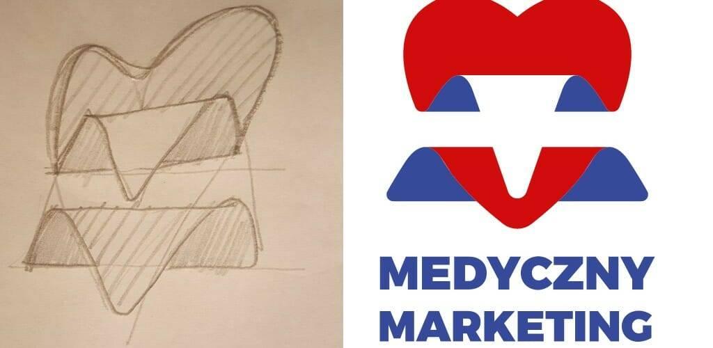 Lekki lifting logo Medycznego Marketingu