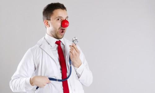 Promuj medycynę na wesoło