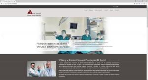 Dr Szczyt - witryna WWW