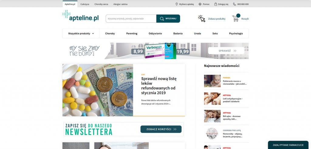 Apteline - rosliny lecznicze