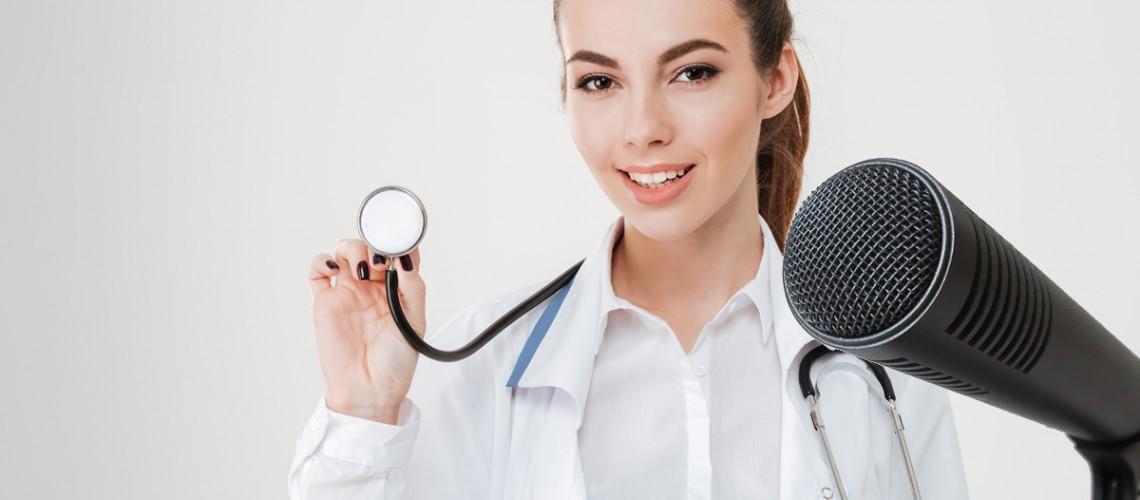 Wywiad z lekarzem wypromuje centrum medyczne
