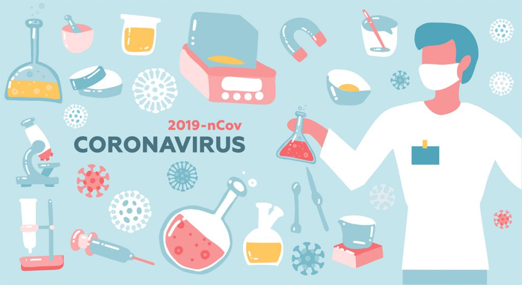 Coronavirus w centrum zinteresowania na przełomie 2019 i 2020 roku.