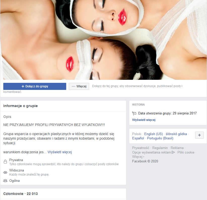 Zamknięte grupy na Facebooku