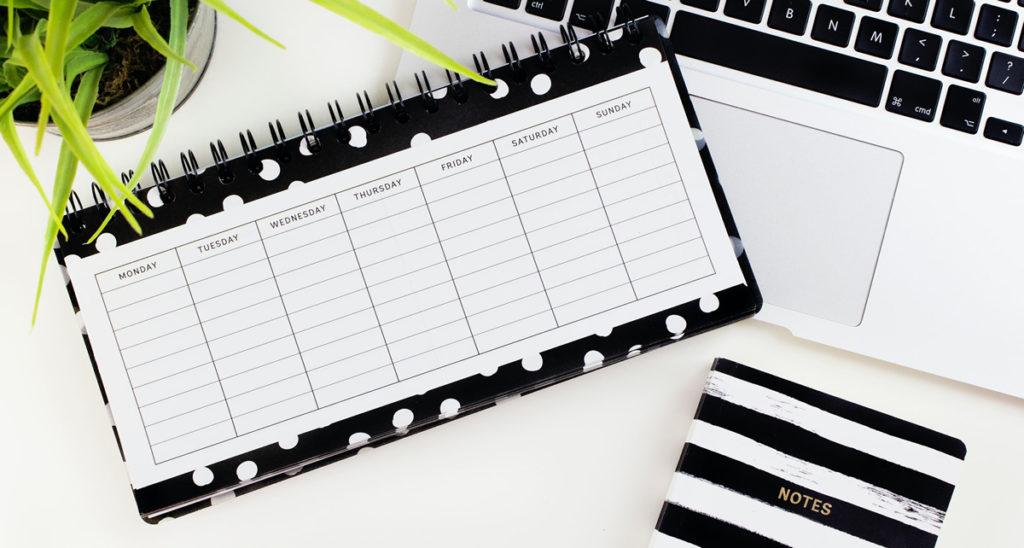 Kalendarz dla regularnej publikacji podcastów
