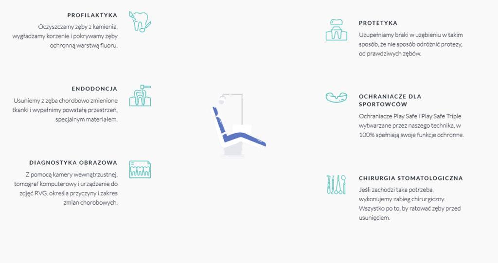 Halembadent - strona WWW dla dentysty