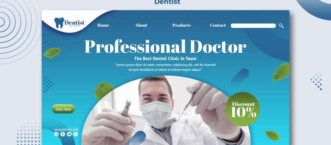 Strona internetowa dla dentysty – najważniejsze funkcjonalności